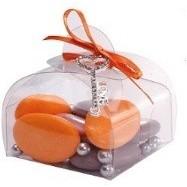 10 boîtes à dragées transparent miniastuccios (