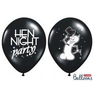 Ballon hen night party rose