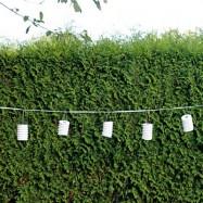 Guirlande de lanternes blanches