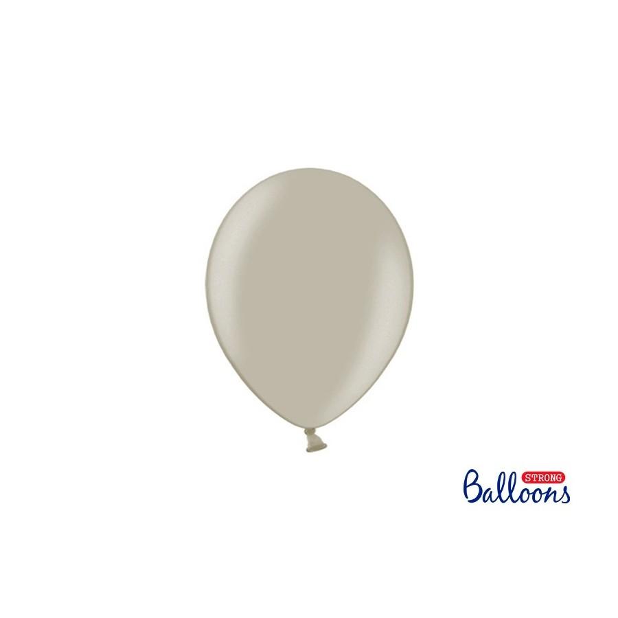 Ballon 23 cm pastel taupe