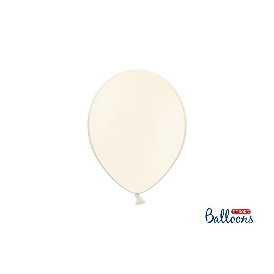 Ballon 27 cm pastel crème