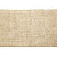 5 m chemin de table toile de jute 28 cm