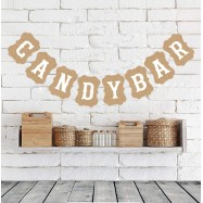 Guirlande Candy Bar kraft