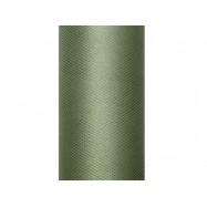 9 m de tulle vert foncé de 30 cm