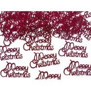 Confettis merry christmas