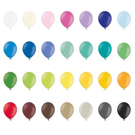Ballon 30 cm pastel