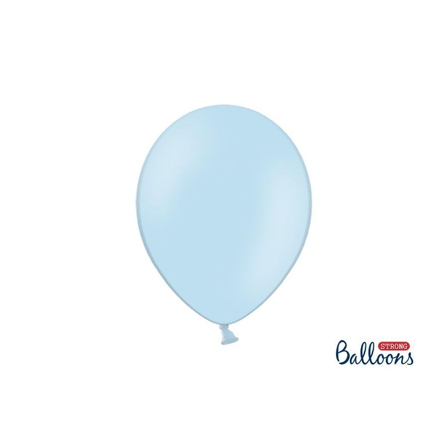 Ballon 30 cm pastel bleu ciel