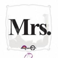 Ballon alumium Mrs
