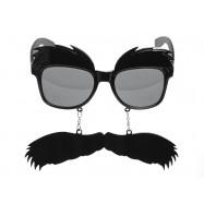 Lunette avec moustache