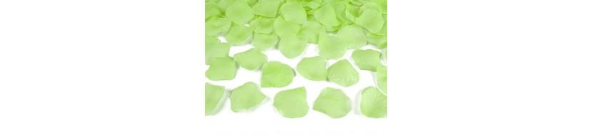 Deco mariage menthe et vert pomme