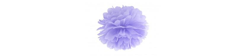 Deco mariage lavande, lilas, violet, ...